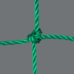 Handballtornetz 3,10 x 2,10 m Tiefe 0,80 / 1,00 m, PE 4 mm ø