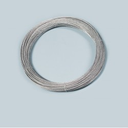 Stahlseil, 4 mm, verzinkt