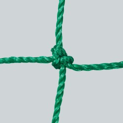 Fußballtornetz 5,15 m x 2,05 m Tiefe 0,80 / 1,50 m, PE 3 mm ø