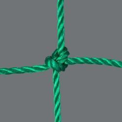 Fußballtornetz 5,15 m x 2,05 m Tiefe 0,80 / 1,50 m, PE 4 mm ø