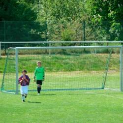 Fußballtornetz 5,15 m x 2,05 m Tiefe 0,80 / 1,50 m, PP 3 mm ø