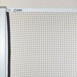 Badminton-Turniernetz, 1,6 mm ø, Nylon, mit Stahlseil