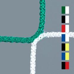 Netz aus PP hochfest, ZWEIFARBIG, Maschenweite 120 mm, 4,0 mm ø