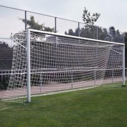 Fußballtornetz 7,50 m x 2,50 m Tiefe 1,00 / 2,00 m, PP 4 mm ø
