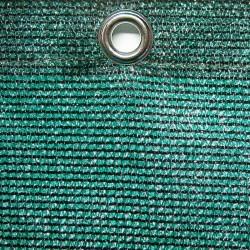 Abdeckplane Sondermaß, DEKRA geprüft, ca. 190 g / qm, ringsum geöst