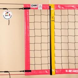Beach-Volleyball-Turniernetz DVV-1 geprüft, PP 3 mm ø