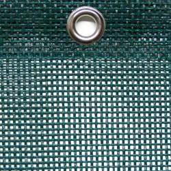 Polyester-Gewebe, luftdurchl., Farbe schwarz, ca. 450 g / qm