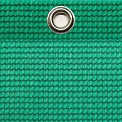 Abdeckplane luftdurchlässig 5,0 x 3,5 m, UV-Beständig, ringsum geöst