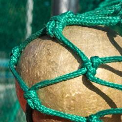 Schutznetznetz für Hammer- u. Diskuswurf nach DIN EN 1263, 32,00 m x 7,50 m / 10,50 m