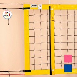 Beach-Volleyball-Turniernetz DVV-1 , PP 3 mm, 8,5 x 1,0 m