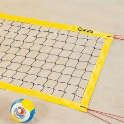 Beach-Volleyball-Turniernetz für Schulsport und Freizeit
