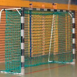 Handballtornetz 3,10 x 2,10 m, Netztiefe: 0,80/1,00 m, PP 4 mm