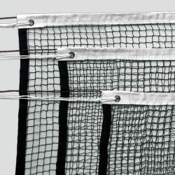 Badminton-Netzgarnitur bestehend aus 3 Netzen Nylon 1,6 mm, 23 m Kevlarseil