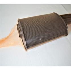 Oberflächenschutznetz, PE-Schlauch, orange