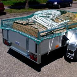 Abdecknetz 1,90 x 3,50 m VDI/DEKRA für Container und Anhänger